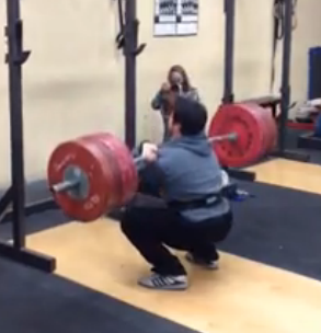 It Starts With the Front Squat Part 1